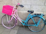 fun pink & blue bike :)