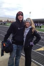 my high school friend, craig & me!