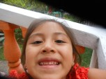perlita taking selfies with my camera