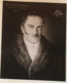Christian Ludwig von Göriz, Handelsherr zu Augsburg, 1779-1841, 50/60 cm, 1942