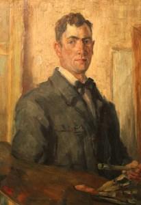 Hans Lehmkuhl Selbstporträt 1919