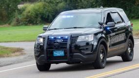 Hanson Police Vehicle