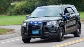 Hanson Police Vehicle
