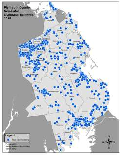 PCO 2018 County Non Fatal Point Map PPT