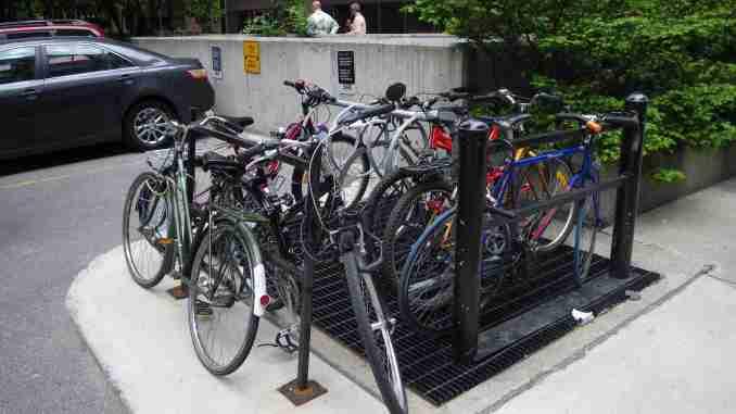bikes over grid