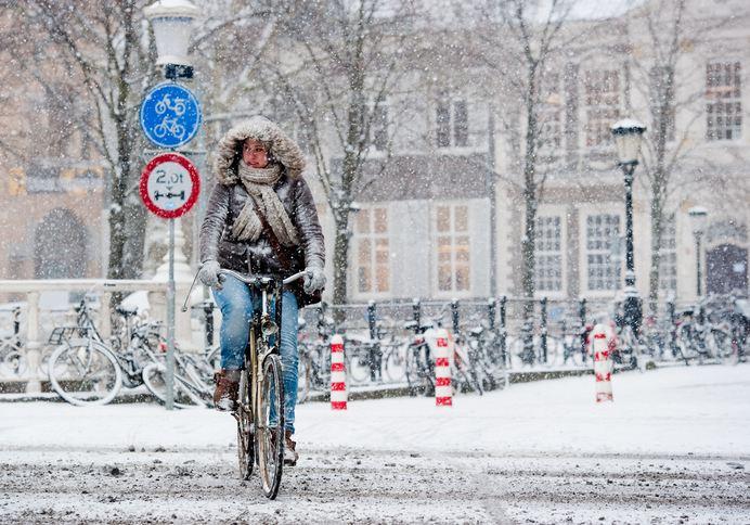 winter cycling – Utrecht – Chris Heijmans