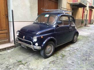 The tiny Fiat 500 is still all over the place in Sicily