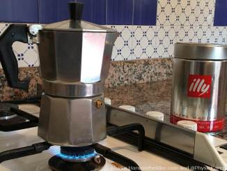 Every Italian home has a coffee maker. And so did our AirBnB locations.