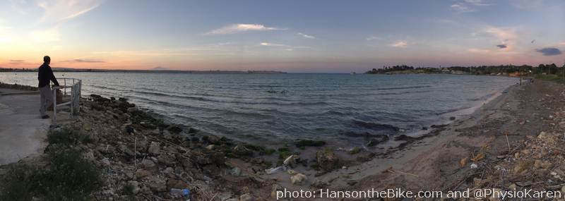 View on the Isola di Ortigia, old Siracusa