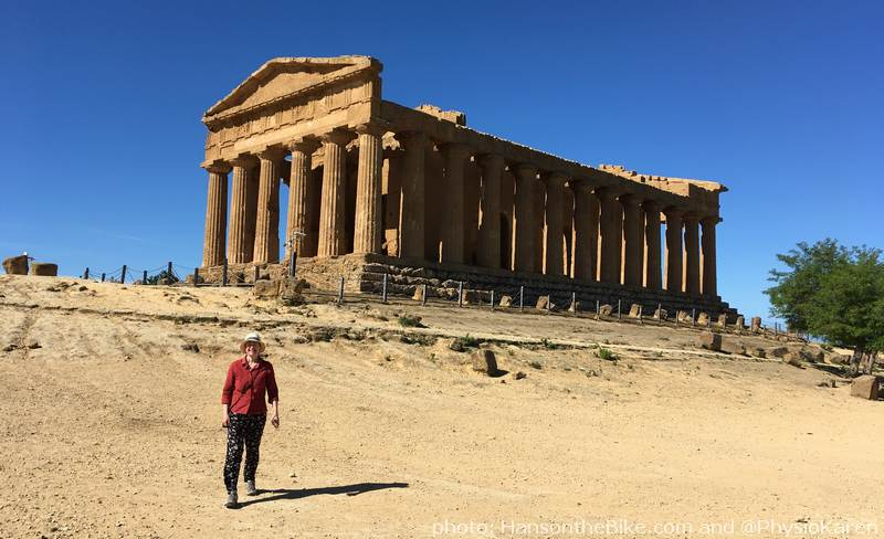 Concordia Temple, the most intact one of the collection near Agrigento