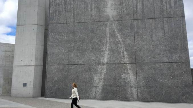 The National Holocaust Monument in Ottawa