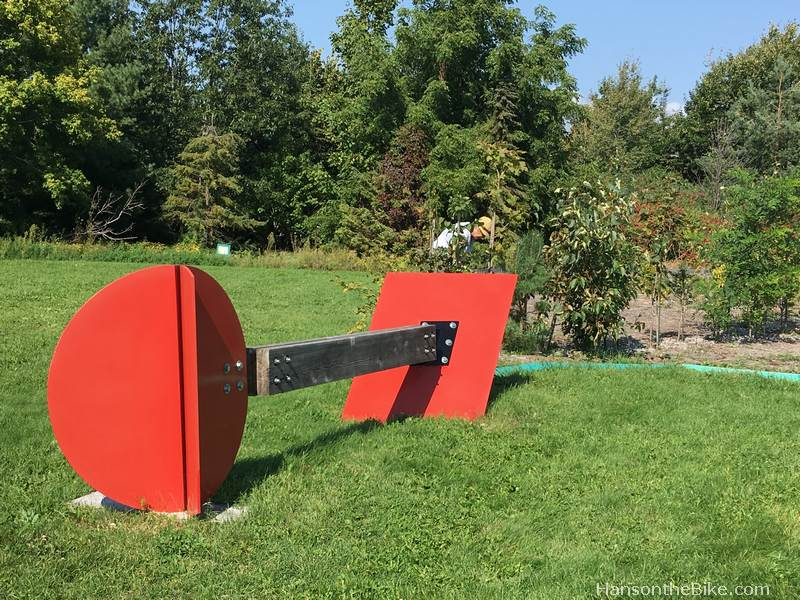 Art installation at Canadensis Ottawa