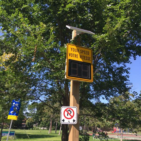 Traffic sign on Fairmont
