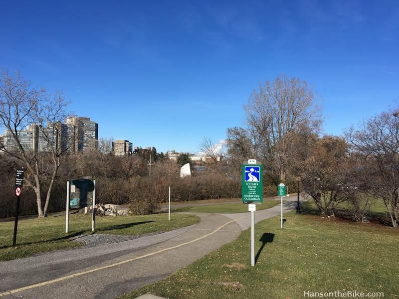 pathway Ottawa River