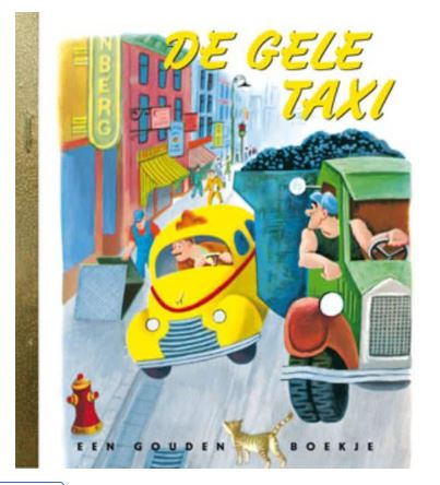 book cover gele taxi