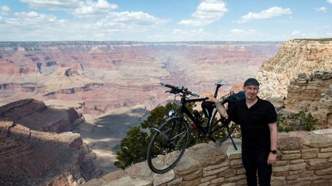 Sven Marx at Grand Canyon