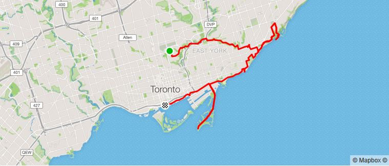 Day 2: Moore Park to Scarborough and back to downtown