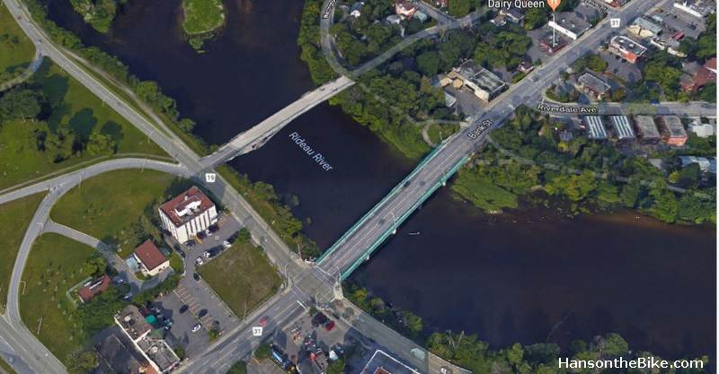 A pedestrian and cycling bridge next to the current heritage bridge at Billings could make a huge difference for cyclist coming from the south end.