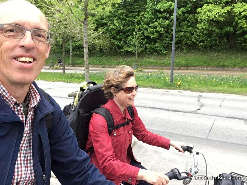 Multi model to Copenhagen: plane, train and bike tour AirBnB