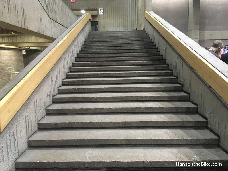 stair case at Place Bonaventure