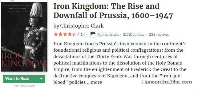 Screen grab Iron Kingdom Goodreads