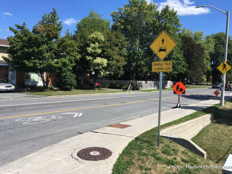 Farlane blv with NEpean Trail