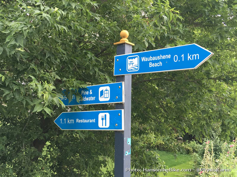 A welcome addition: way finding to places
