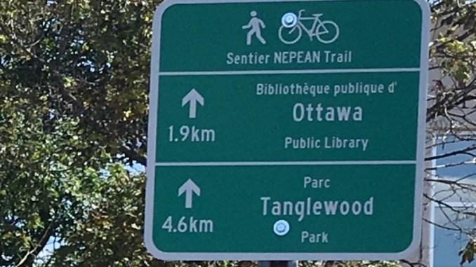 wayfinding sign Ottawa