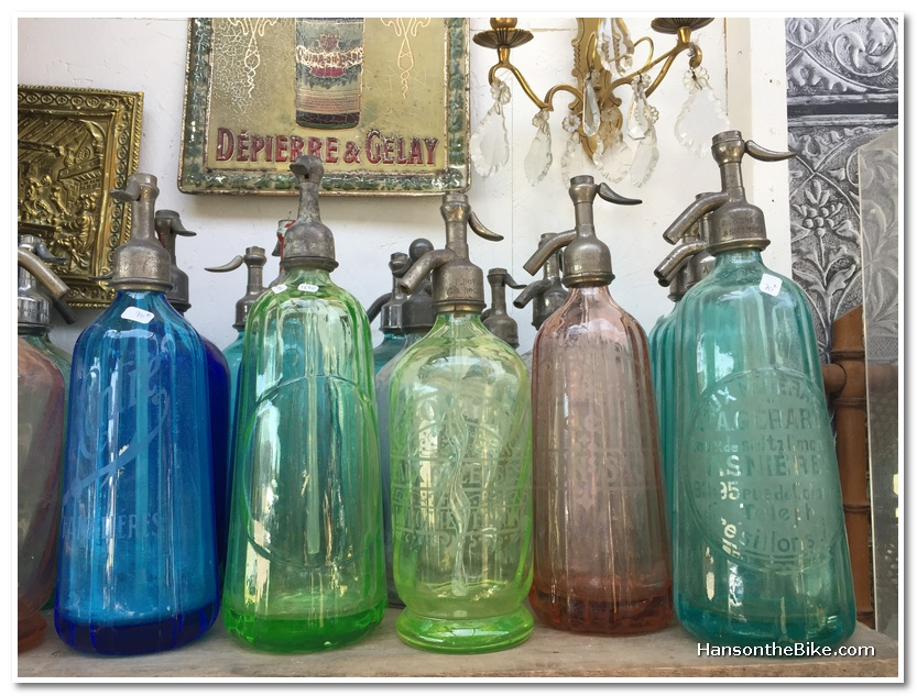Colourful bottles