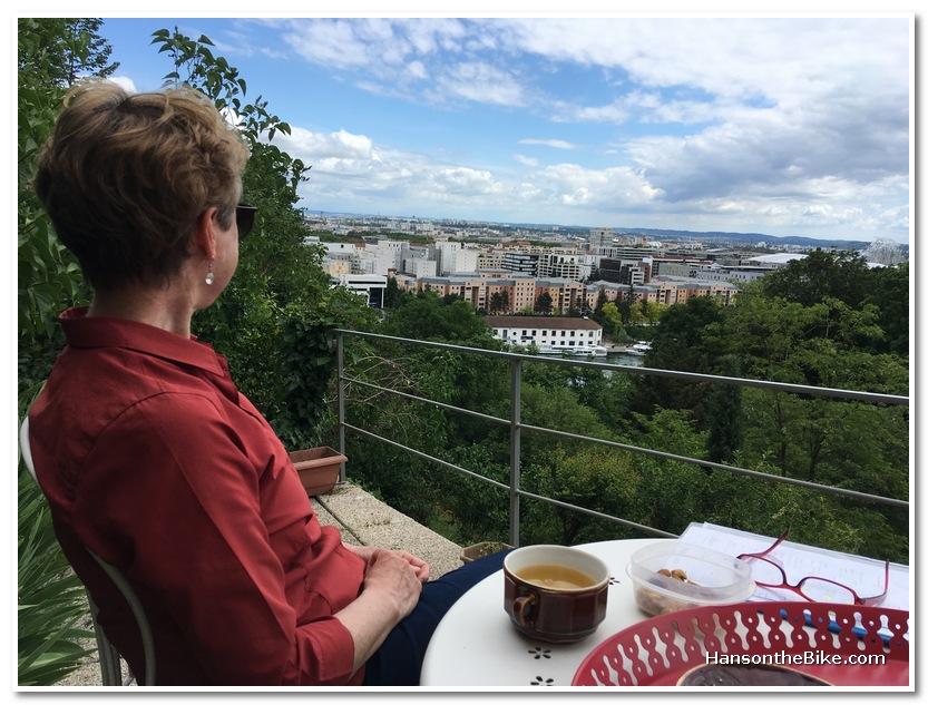view over Lyon