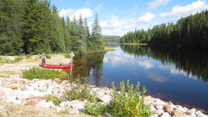 campervan vacation river in national park