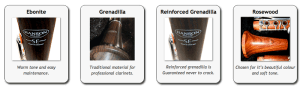 Hanson SE intermediate clarinets