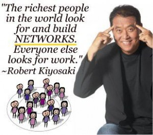 The Rich Build Networks