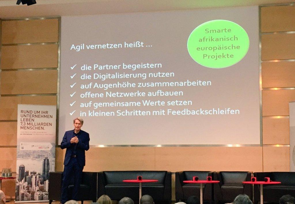 Keynote Afrika, Hans Stoisser