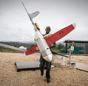 Cargo-drones in Rwanda