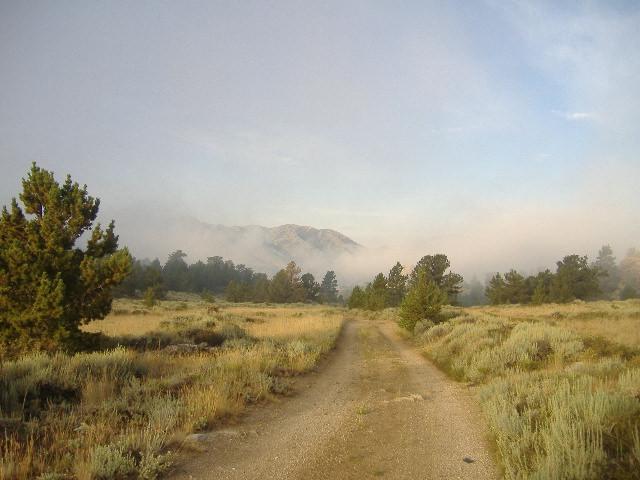 Morning Fog burning off