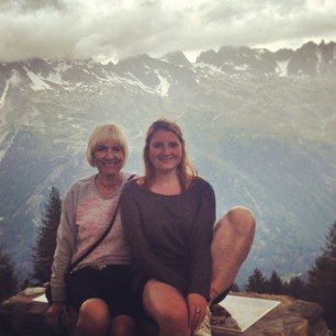 Mountains with Mum