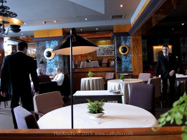 Pierre Gagnaire 皮耶.加尼葉餐廳內的一隅