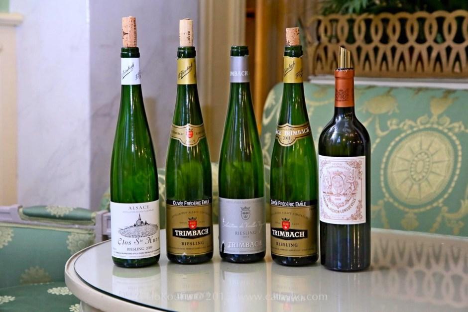 在 VDEWS 這場盛會裡,好酒幾乎是源源不絕般