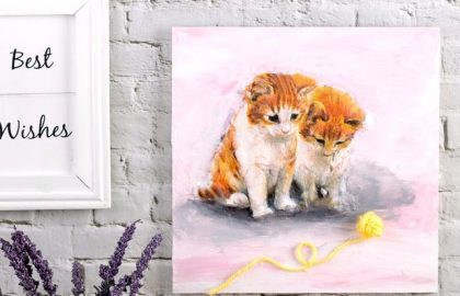 שני חתולים, תמונה אחת