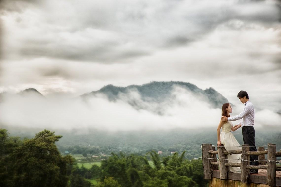 チェンマイ ChiangMai  海外の結婚式の前攝 寫真集