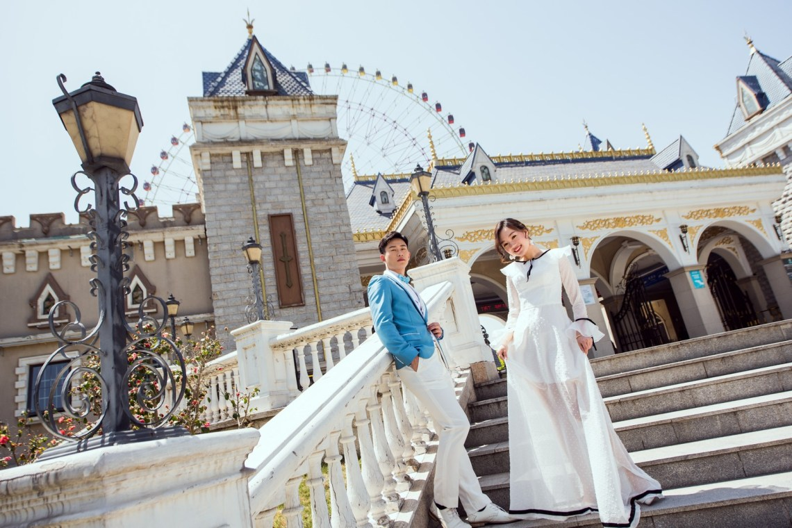 蘇州 Suzhou 海外の結婚式の前攝 寫真集