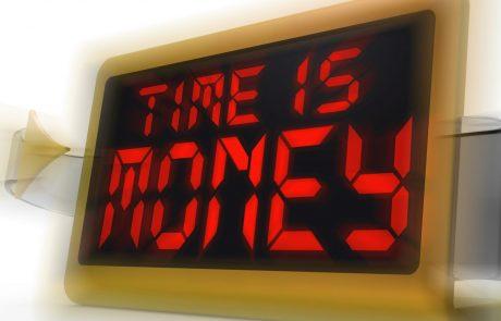 זמן שווה כסף !