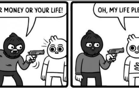 החיים או הכסף