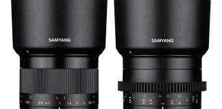 SAMYANG 35mm F1.2 Objektiv