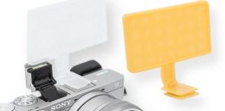 Gary Fong Bounce-Panel für die Sony Alpha Modelle 6000, 6300 & 6500