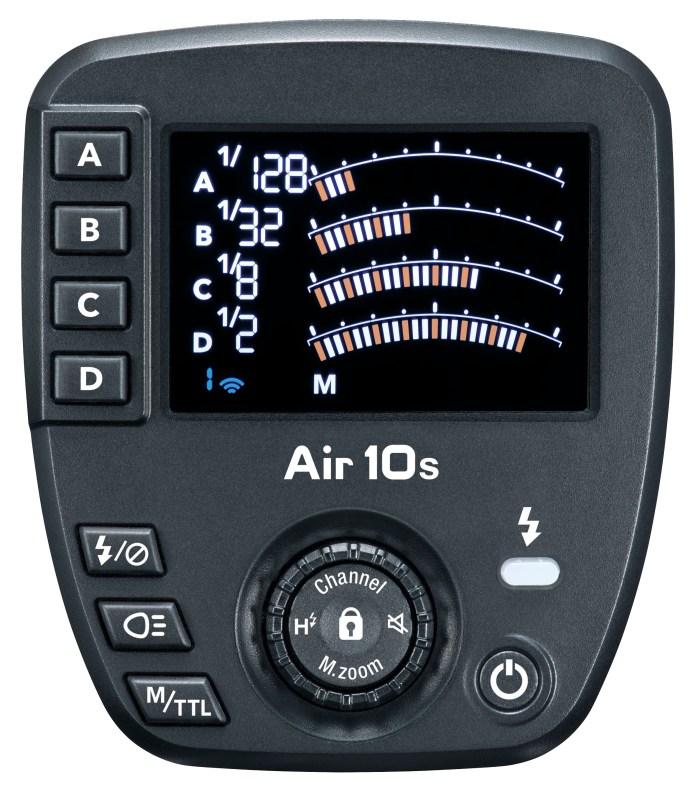 Nissin Air10s Funkblitzsteuerung