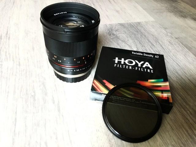 Variable ND Filter von Hoya