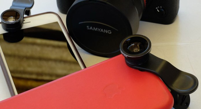 Fotografieren mit dem Smartphone - Kenko Real Pro Clips
