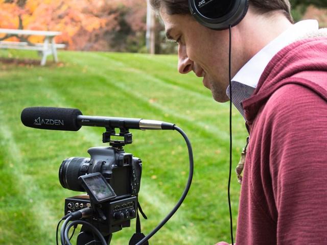 Azden SGM-250 – Richtrohrmikrofon. Hohe Verarbeitungsqualität für starke Beanspruchung.